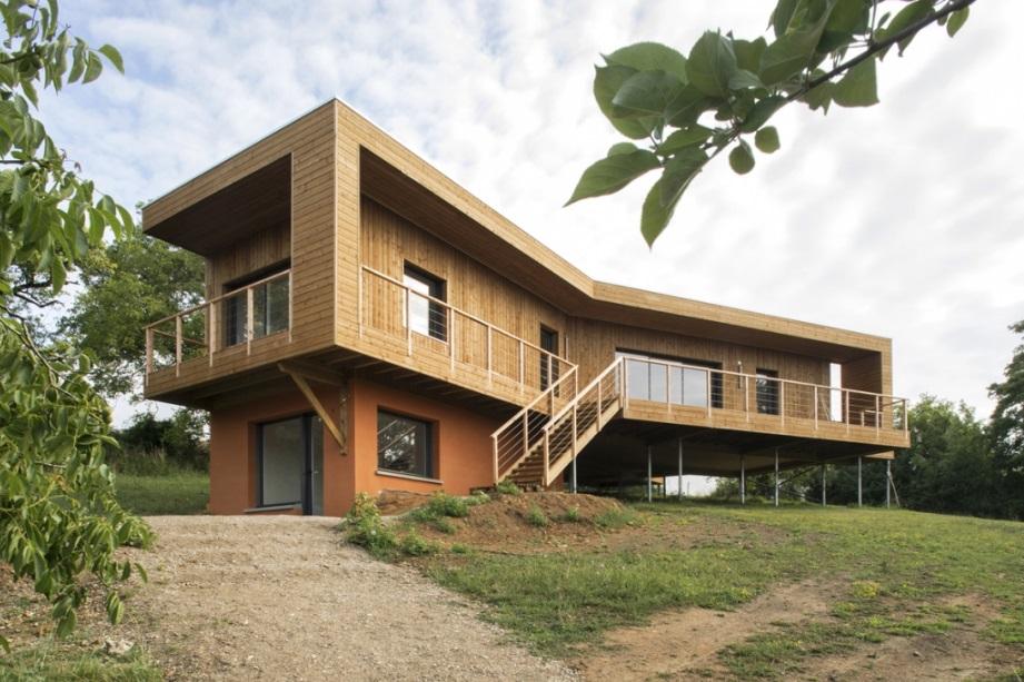 Maison sur pilotis : une alternative écologique à découvrir